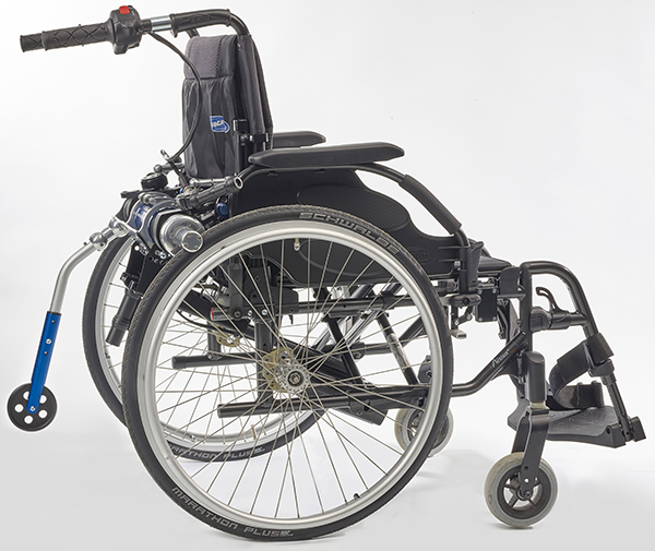 Fauteuil roulant minotor² Benoit systemes