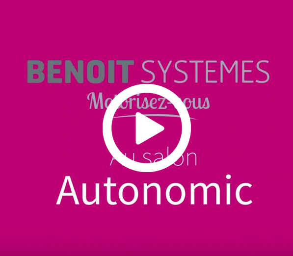 Benoit Systemes au Salon Autonomic PARIS 2018